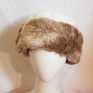 Parkhurst Faux Cashmere/Fur Hat